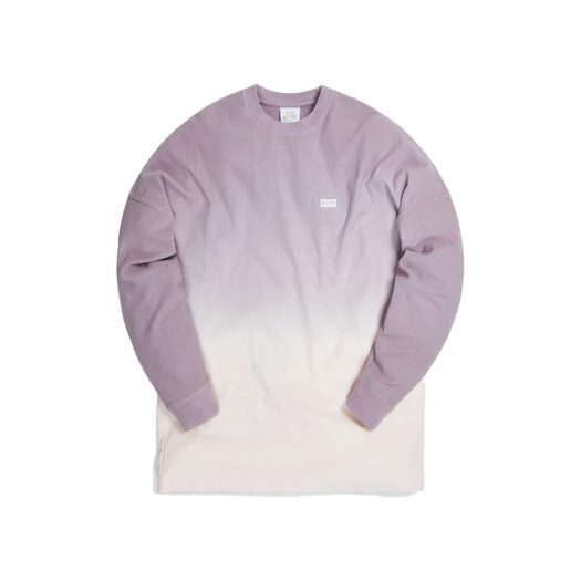 Kith for Lucky Charms Dip Dye L/S Tee Purple/Pink