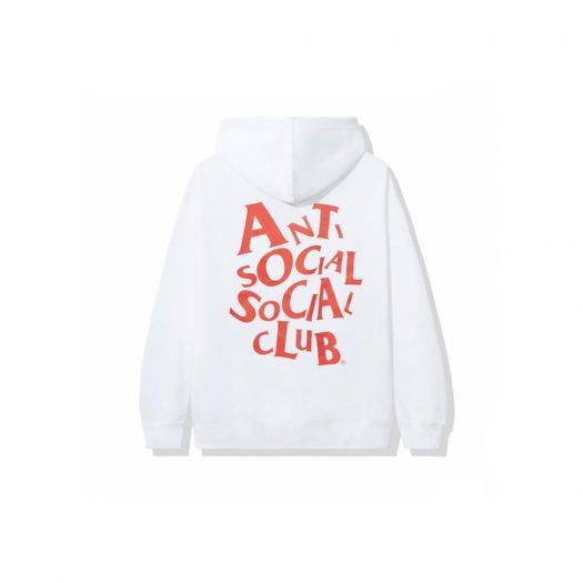 Anti Social Social Club Complicated Hoodie White
