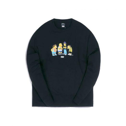 Kith x The Simpsons Bullies L/S Tee Black