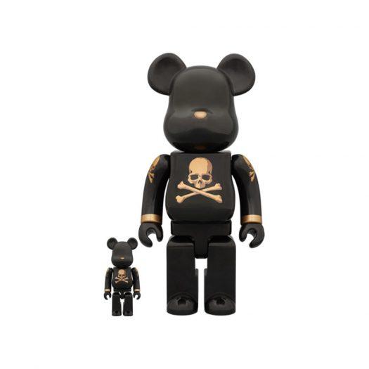 Bearbrick x mastermind Black and Gold 100% & 400% Set Black/Gold