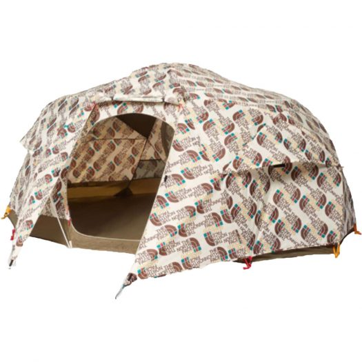 Gucci x The North Face Tent Brown/White