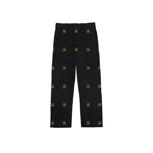 Travis Scott x McDonald's Cactus Arches All-Over Work Pants Black