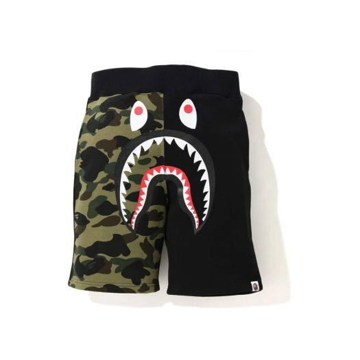 Bape Shark Sweat Shorts (Ss21) Black
