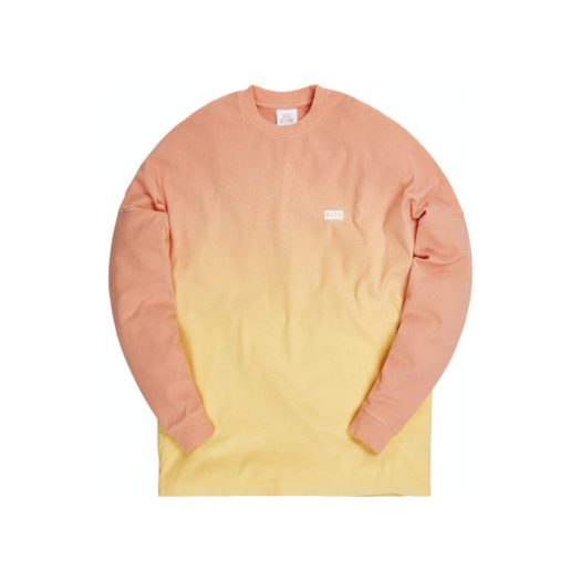 Kith for Lucky Charms Dip Dye L/S Tee Orange/Yellow