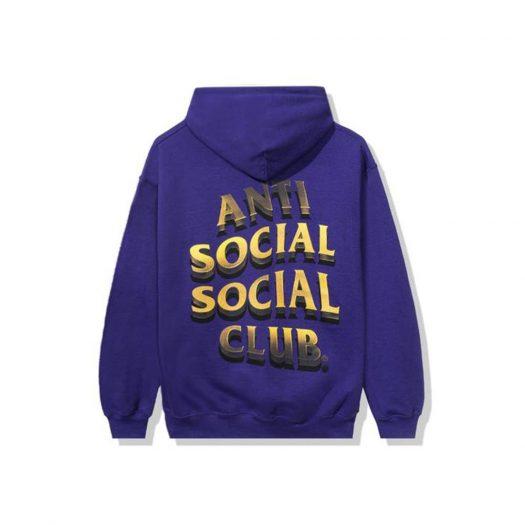 Anti Social Social Club 747K Hoodie Purple