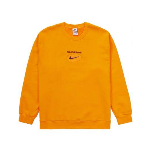 Supreme Nike Jewel Crewneck Orange