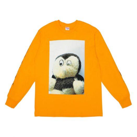 Supreme Mike Kelley AhhYouth! L/S Tee Bright Orange