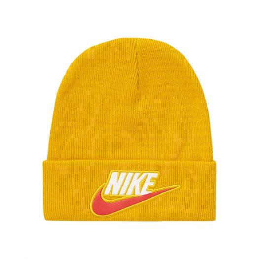 Supreme Nike Beanie Mustard