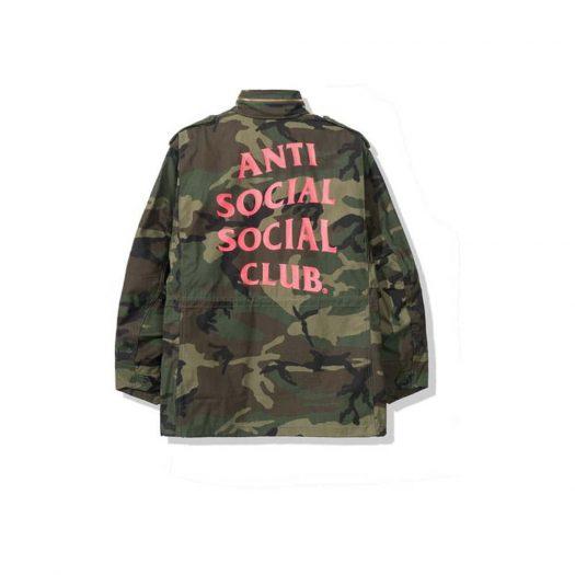 Anti Social Social Club Milspec Alpha Jacket Camo