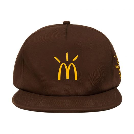 Travis Scott x McDonald's Cactus Arches Hat Brown
