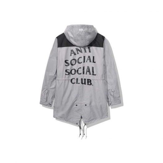 Anti Social Social Club Salmon Alpha Jacket Grey/Black