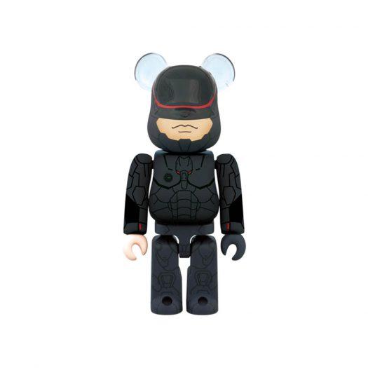 Bearbrick Robocop 3.0 100% Black