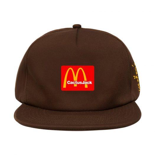 Travis Scott x McDonald's Cj Arches Hat Brown