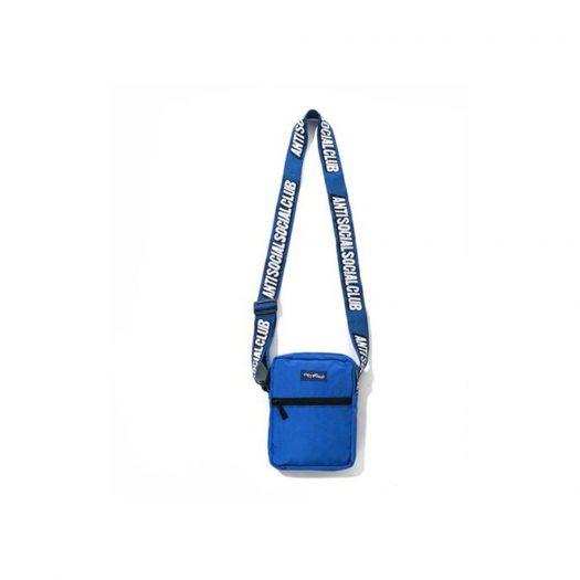 Anti Social Social Club Logo Side Bag Blue