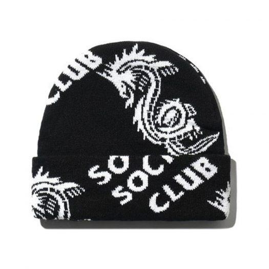 Anti Social Social Club Garden Grove Knit Cap Black