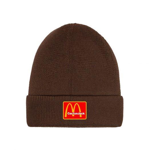 Travis Scott x McDonald's Cj Arches Beanie Brown