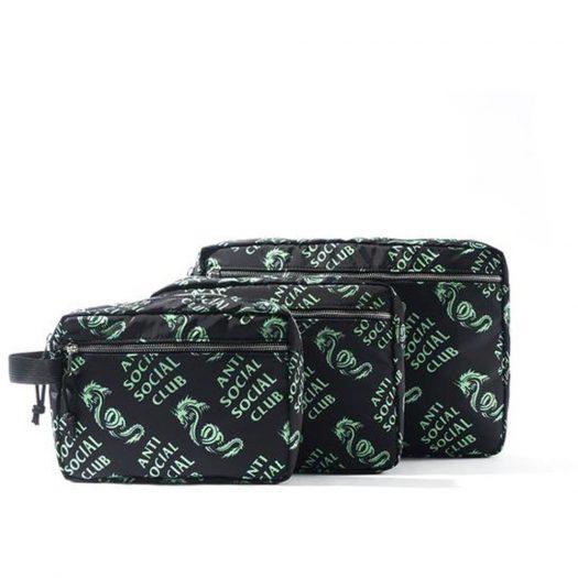 Anti Social Social Club Garden Grove Bag Set Black