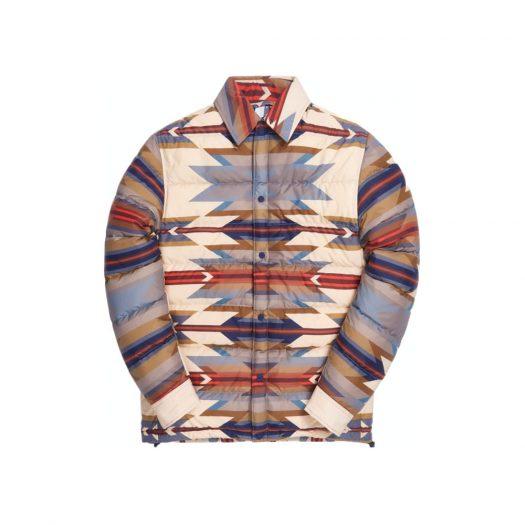 Kith for Pendleton Brave Star Puffer Shirt Jacket Tan/Multi