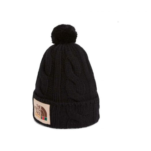 Gucci x The North Face Wool Hat Black