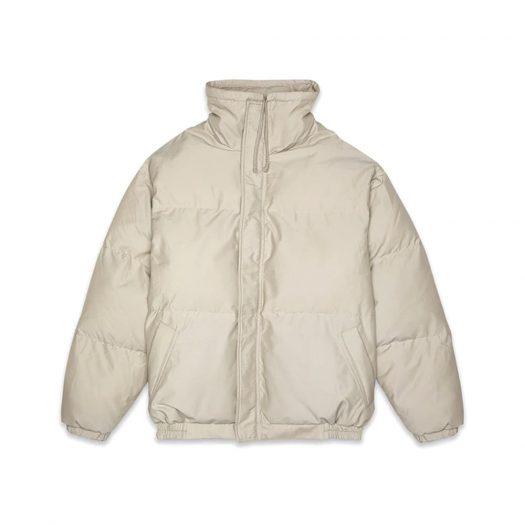 Fear Of God Essentials Puffer Jacket Olive/khaki