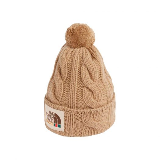 Gucci x The North Face Wool Hat Beige