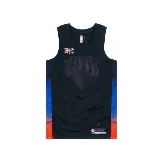 Kith & Nike for New York Knicks Swingman Jersey Black