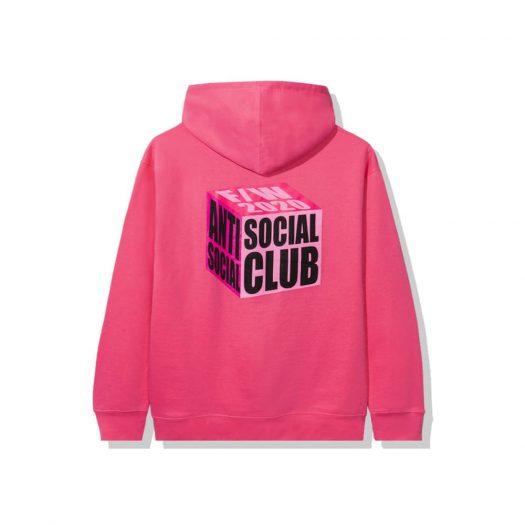 Anti Social Social Club I Wish I Was Wrong Hoodie Pink