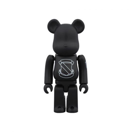 Bearbrick x Number (N)ine Emblem 100% Black