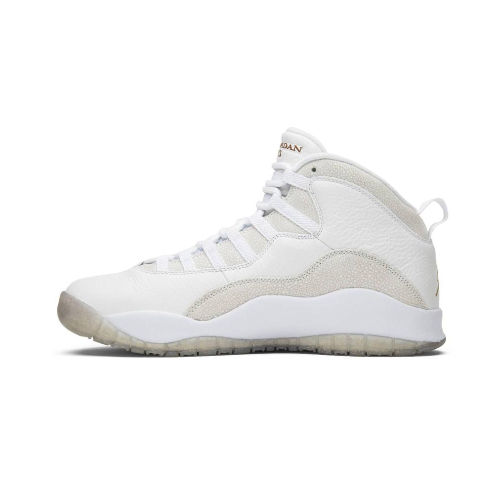 Jordan 10 Retro Drake OVO White