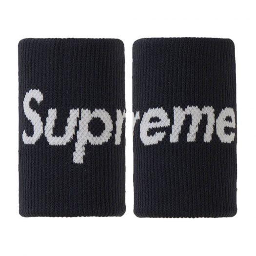 Supreme Nike NBA Wristbands (Pack Of 2) Black