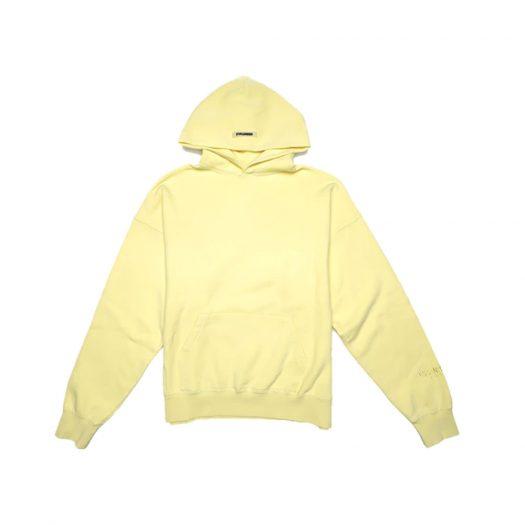 Fear Of God Essentials Lemonade Pullover Hoodie Yellow