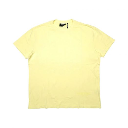 Fear Of God Essentials Lemonade Boxy T-shirt Yellow