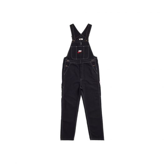 Supreme Nike Cotton Twill Overalls Black