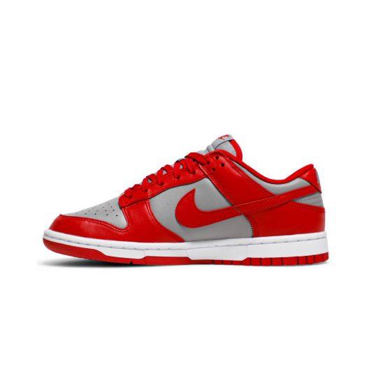 Nike Dunk Low Retro Medium Grey Varsity Red UNLV (2021)