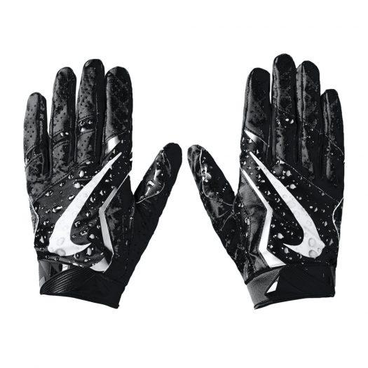 Supreme Nike Vapor Jet 4.0 Football Gloves Black