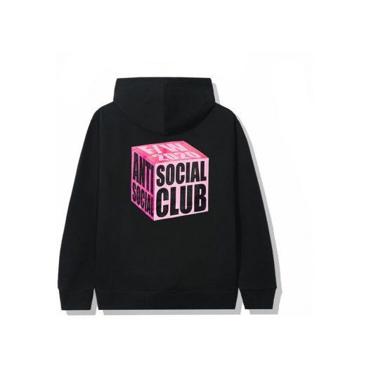 Anti Social Social Club I Wish I Was Wrong Hoodie Black