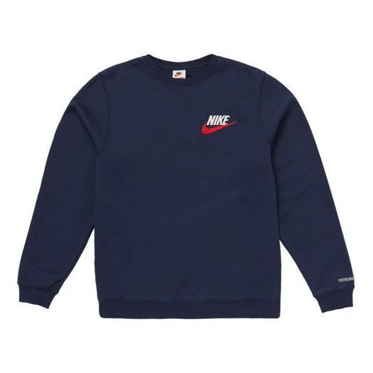 Supreme Nike Crewneck Navy