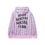 Anti Social Social Club Balcony Hoodie Multi