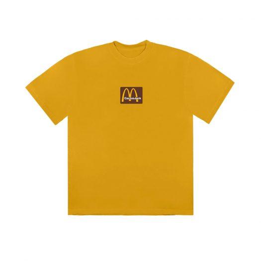 Travis Scott x McDonald's Sesame Inv II T-Shirt Gold