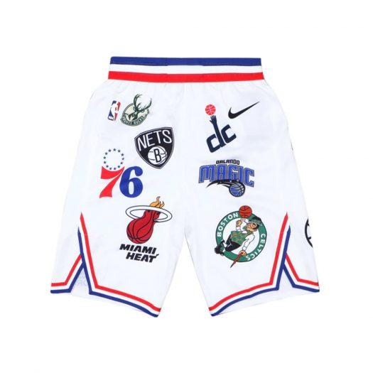 Supreme Nike/NBA Teams Authentic Short White