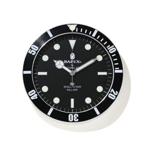 Bape X Wall Clock Black