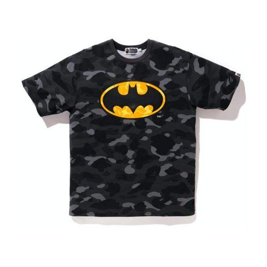 Bape X Dc Batman Color Camo Tee (Fw20) Black
