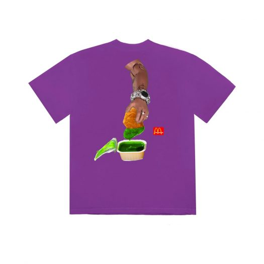 Travis Scott x McDonald's Cactus Sauce III T-Shirt Purple