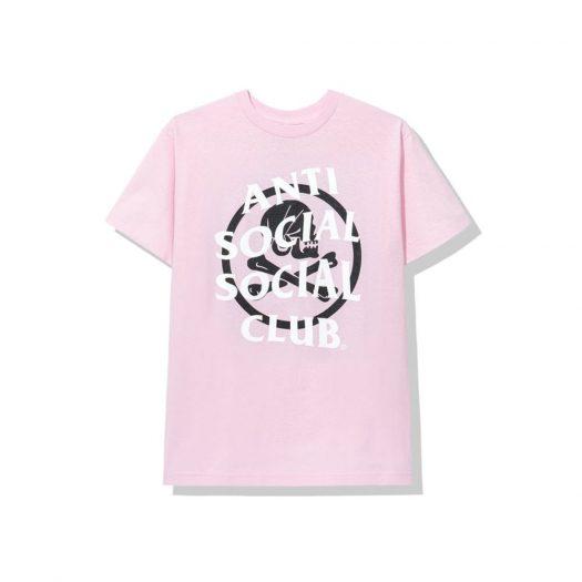 Anti Social Social Club x Neighborhood Cambered Pink Tee Tee Pink