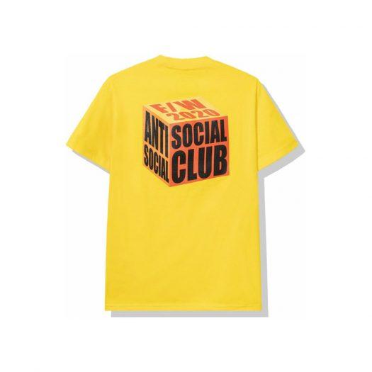 Anti Social Social Club I Wish I Was Wrong Tee Gold