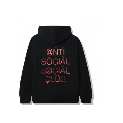 Anti Social Social Club ASSC999 Hoodie Black