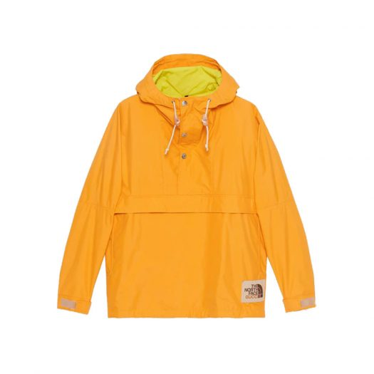 Gucci x The North Face Online Exclusive Nylon Wind Jacket Yellow