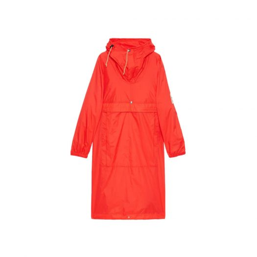 Gucci x The North Face Online Exclusive Cagoule Red