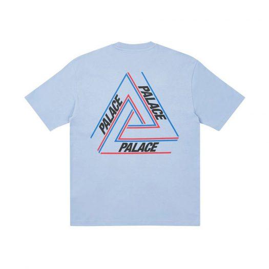 Palace Basically A Tri-Ferg T-Shirt Baby Blue