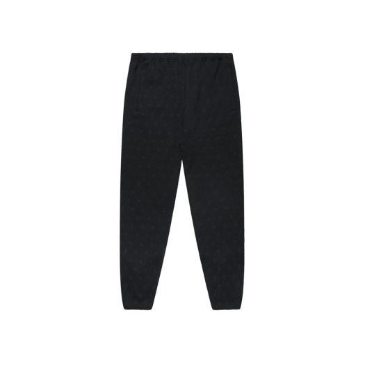 OVO Monogram Sweatpant Black